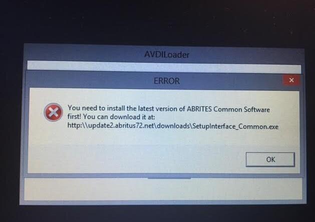 fvdi2-error